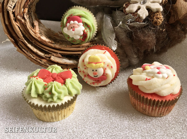 "Cremebadecupcake ""Jolly Holly"", 100 g"